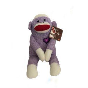 ❤️3/$30 Purple sock monkey.